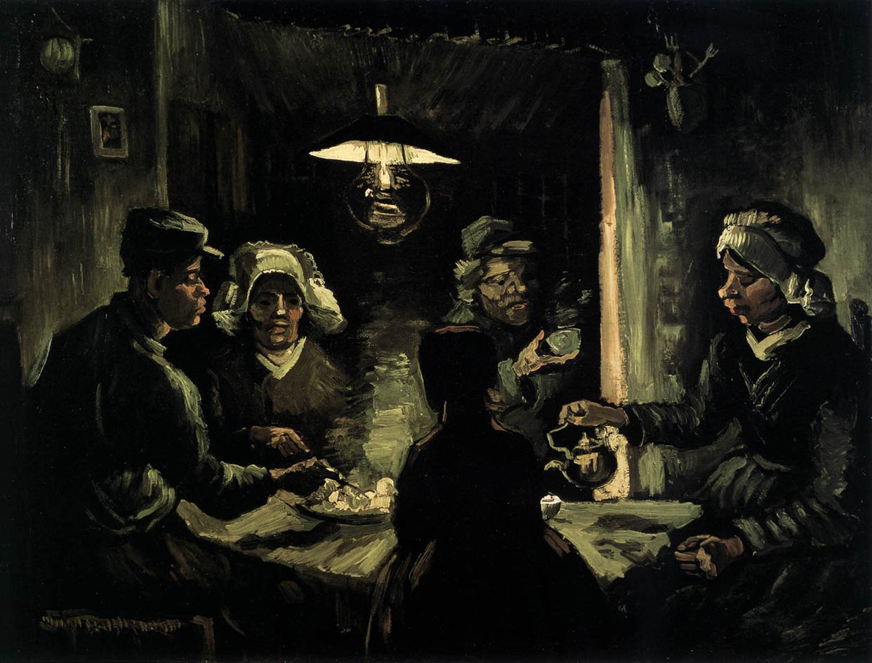 The Potato Eaters (1885, F 78-JH 734) | The Ark of Grace
