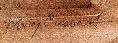 Cassatt_signature