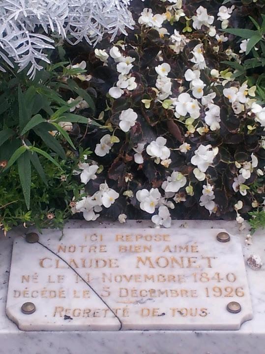 Gravestone Claude Monet