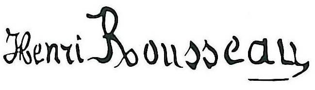 Rousseau_Henri_signature