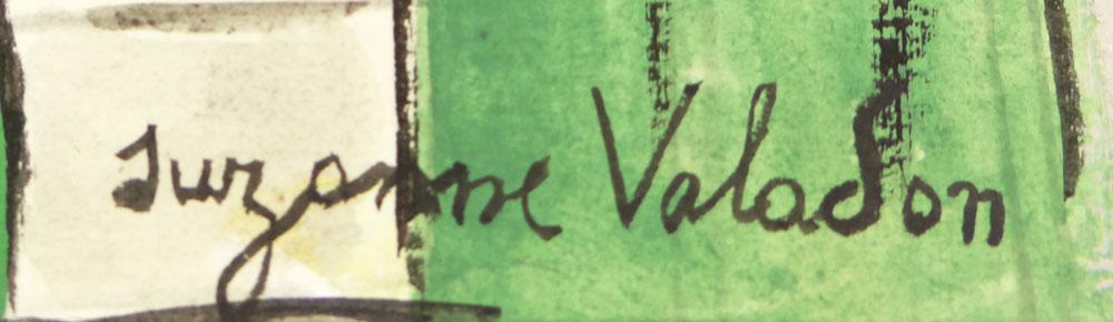 Suzanne Valadon_Signature