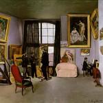 Bazille's Studio, 9 rue de la Condamine (1870)