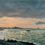 Beach at Sainte-Adresse (1865)