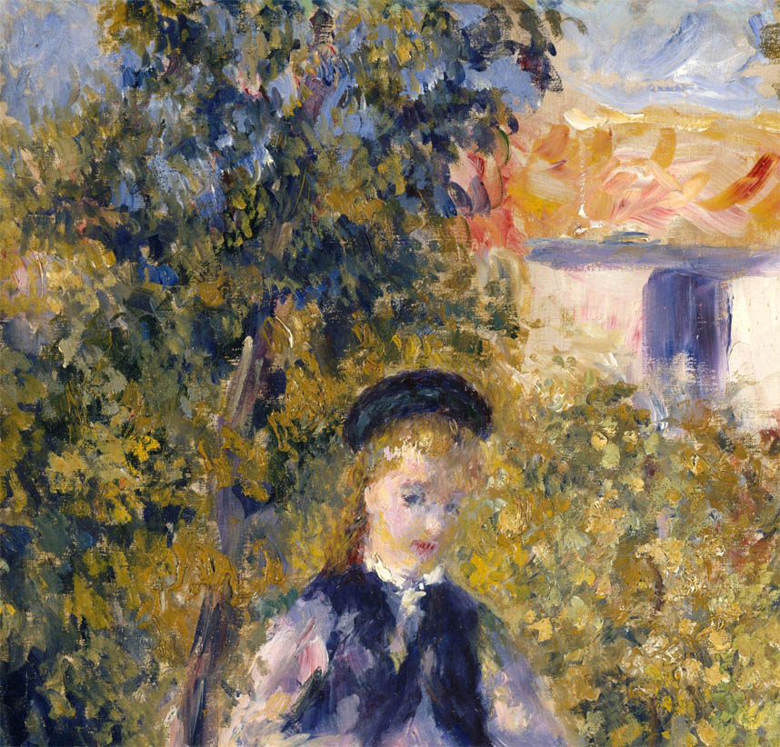 Nini in the Garden (1876-d-1)