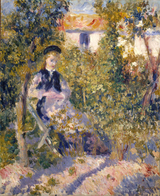 Nini in the Garden (1876)