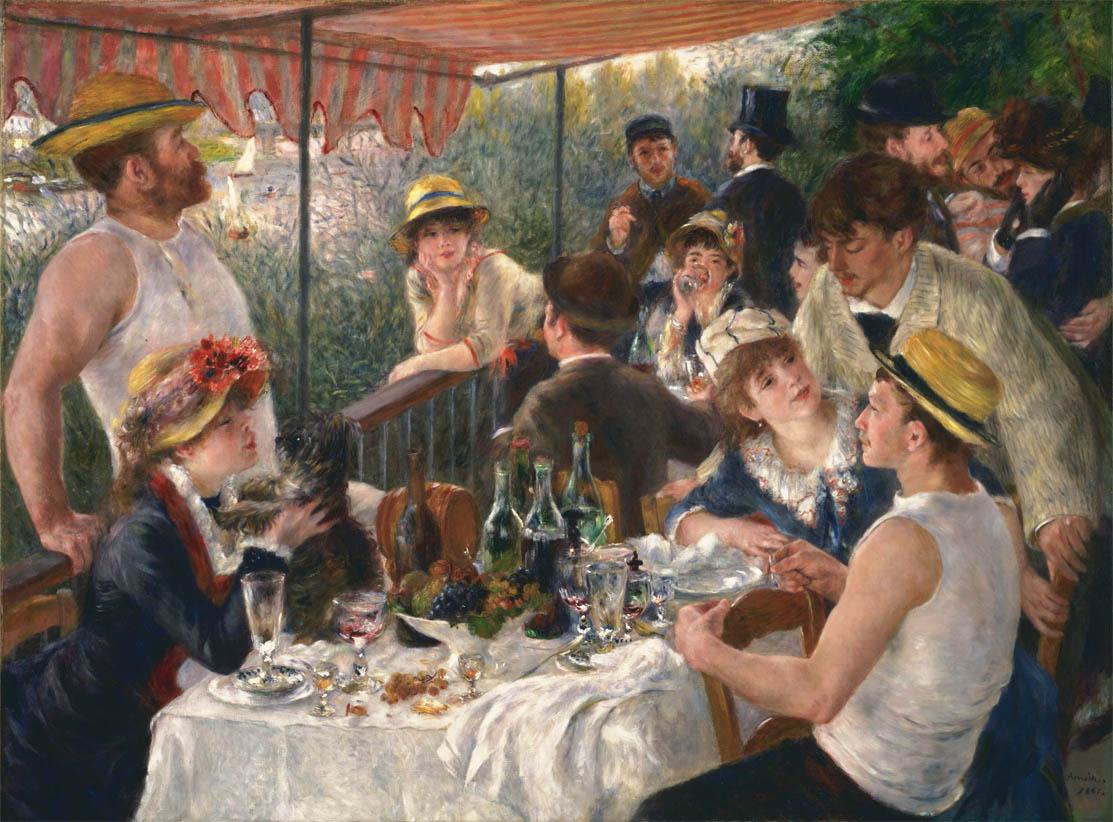 Le Déjeuner des canotiers (1880-81)