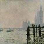 La Tamise à Westminster (1871)