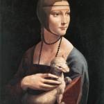 La dama con l'ermellino, Cecilia Gallerani (c. 1490)