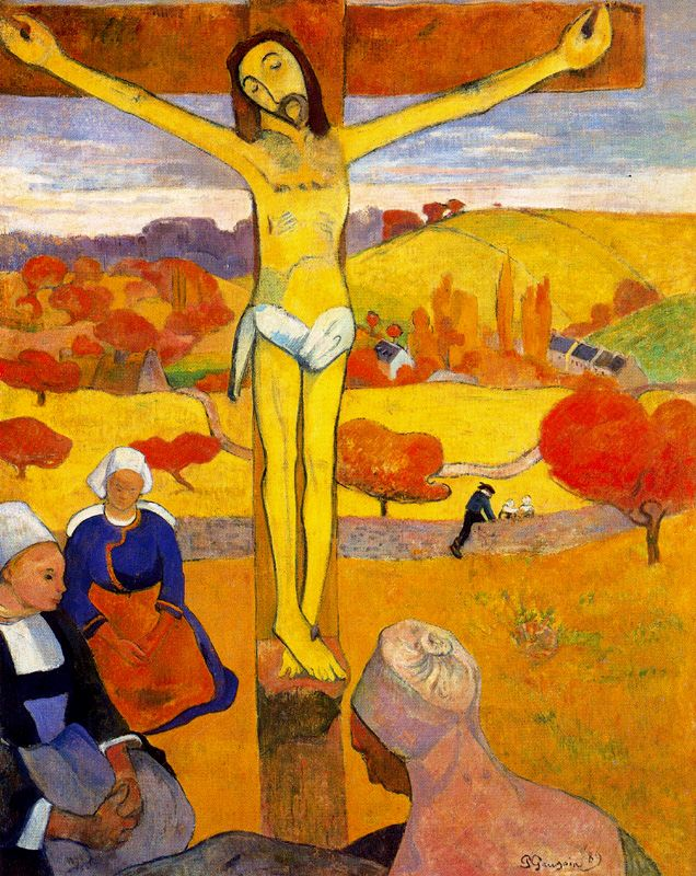 Le Christ jaune (1889)