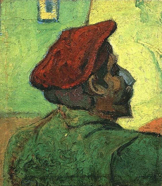 Paul Gauguin, Man in Red Beret (1888)