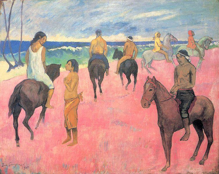 Riders on the Beach (1902-Niarchos)