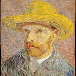 Self-Portrait with a Straw Hat (1887-Metropolitan)