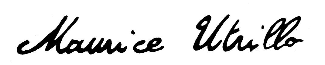 Utrillo,_Signature