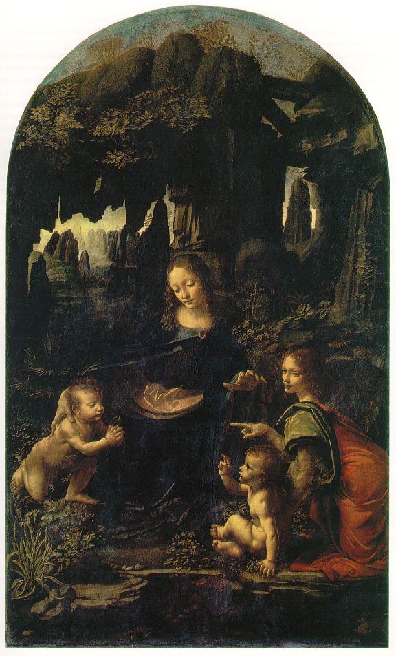 Vergine delle rocce (1483-1486)