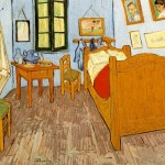 Vincent's Bedroom in Arles (1889-Orsay)