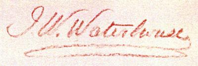 Waterhouse_signature