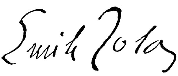 Emile Zola_signature