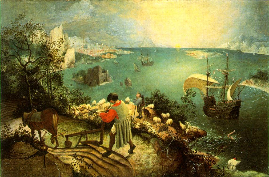 Landscape with the Fall of Icarus (c1558)