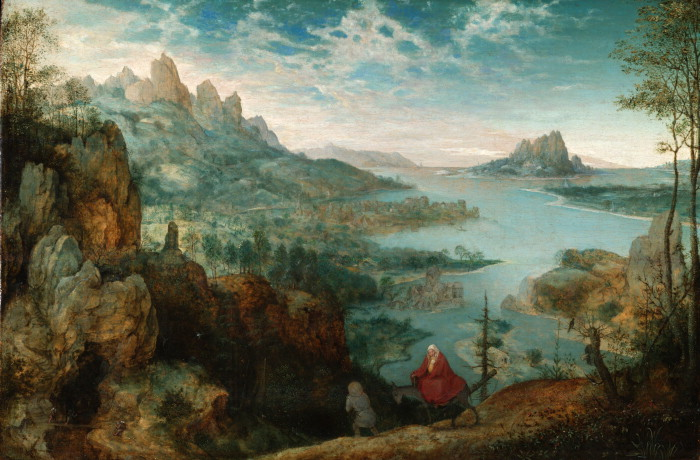 Landscape with the Flight into Egypt (1563)