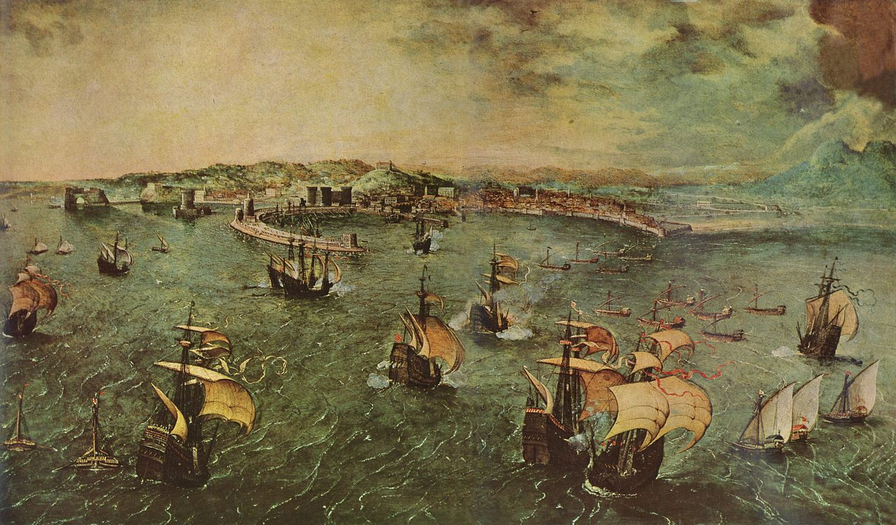 Naval Battle in the Gulf of Naples (c1558)