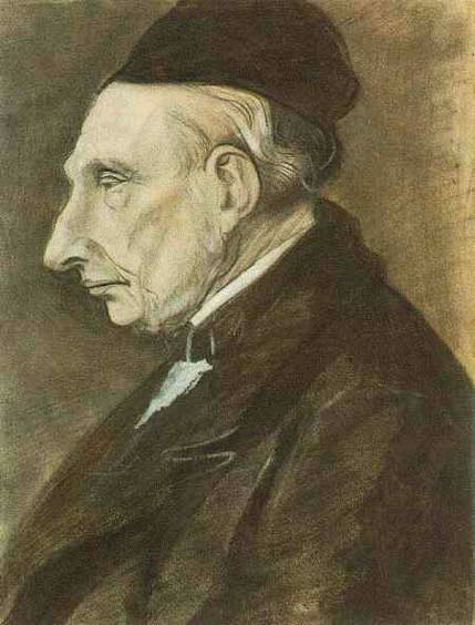 Portrait of Vincent van Gogh, the Artist's Grandfather (1881)