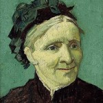 Portrait of the Artist's Mother, Anna van Gogh (1888)