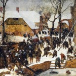 The Adoration of the Kings in the Snow (1563)