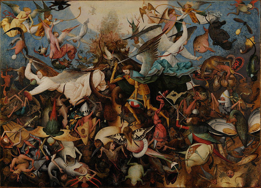 The Fall of the Rebel Angels (1562)