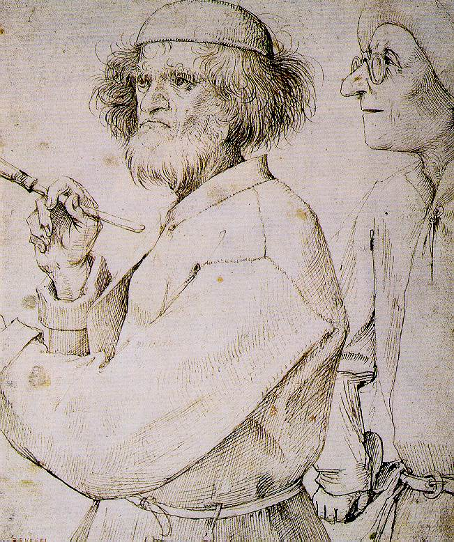 The Painter and the Connoisseur (c. 1565)