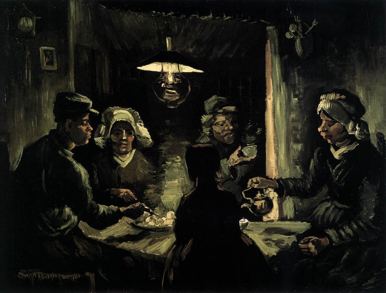 The Potato Eaters (1885, F 78-JH 734)