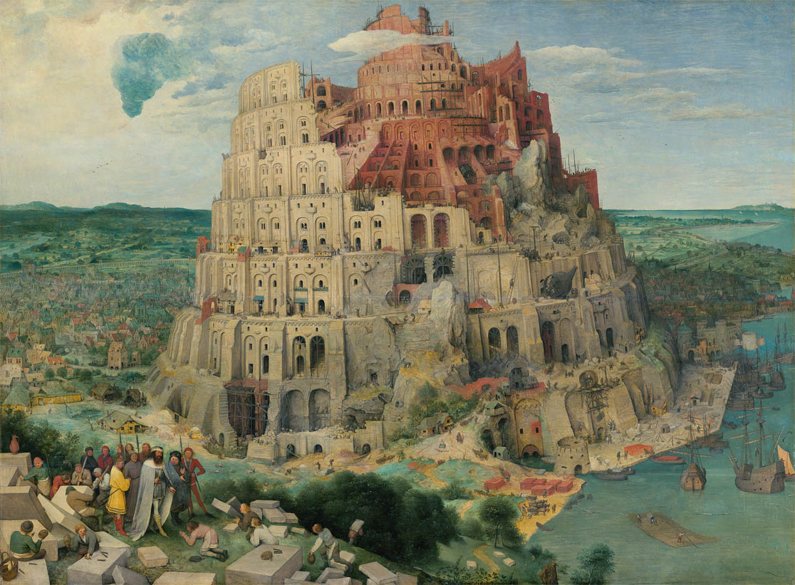 The Tower of Babel (1563)