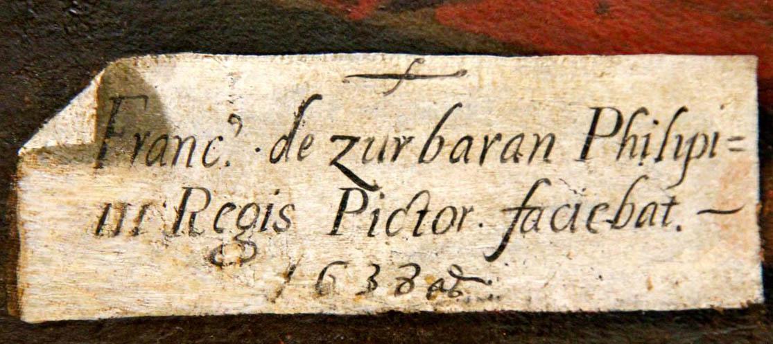 Zurbaran-1638_signature
