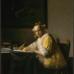 A Lady writing (c. 1665)