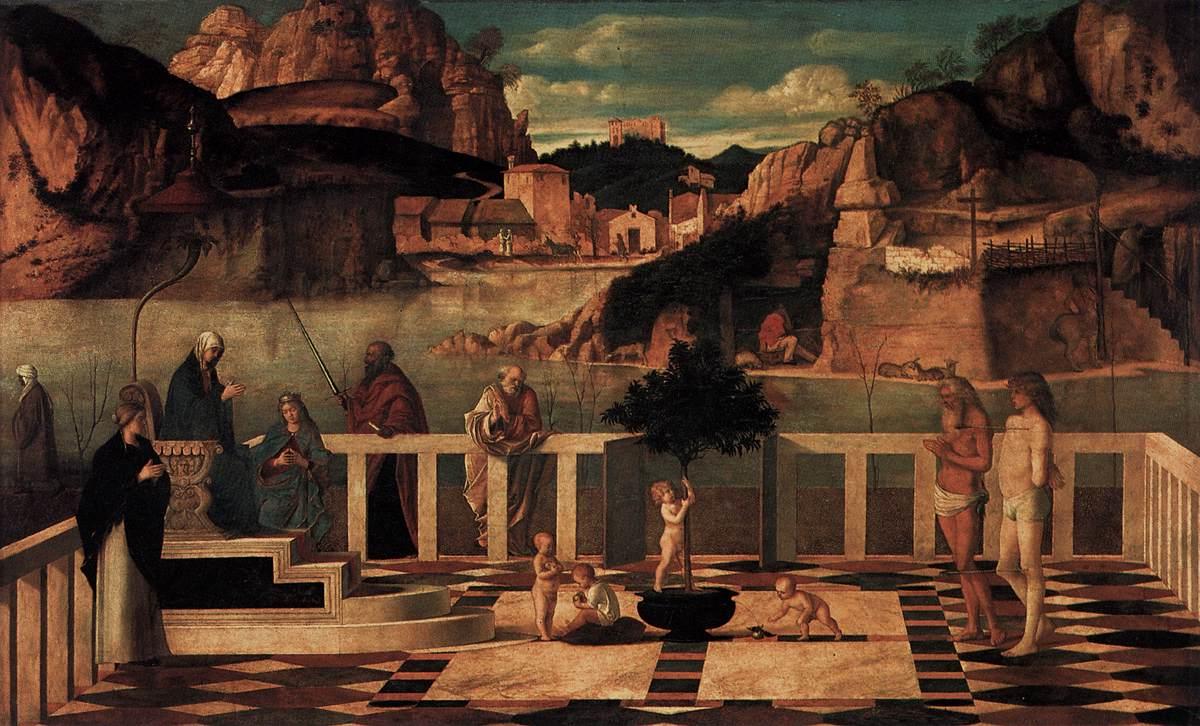 Allegoria sacra (1490-1499)