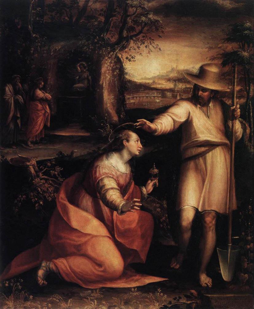 Apparizione di Gesù alla Maddalena (1581)