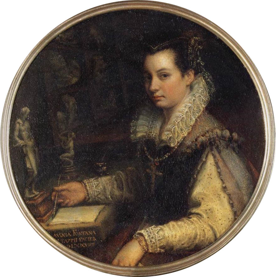 Autoritratto allo scrittoio (1579)