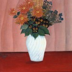 Bouquet of Flowers circa 1909-10 by Henri Rousseau (`Le Douanier') 1844-1910