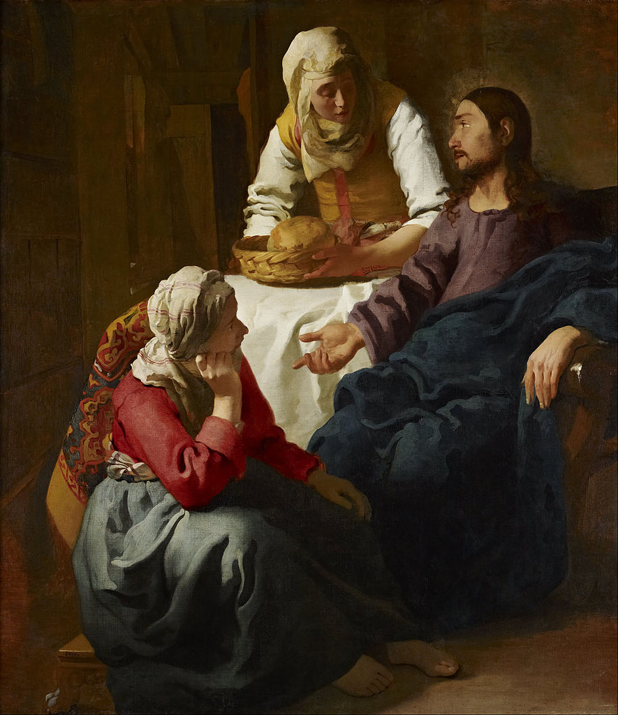 Christ in the House of Martha and Mary (1654-1656)