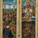 Crucifixion and Last Judgement Diptych (c. 1430)