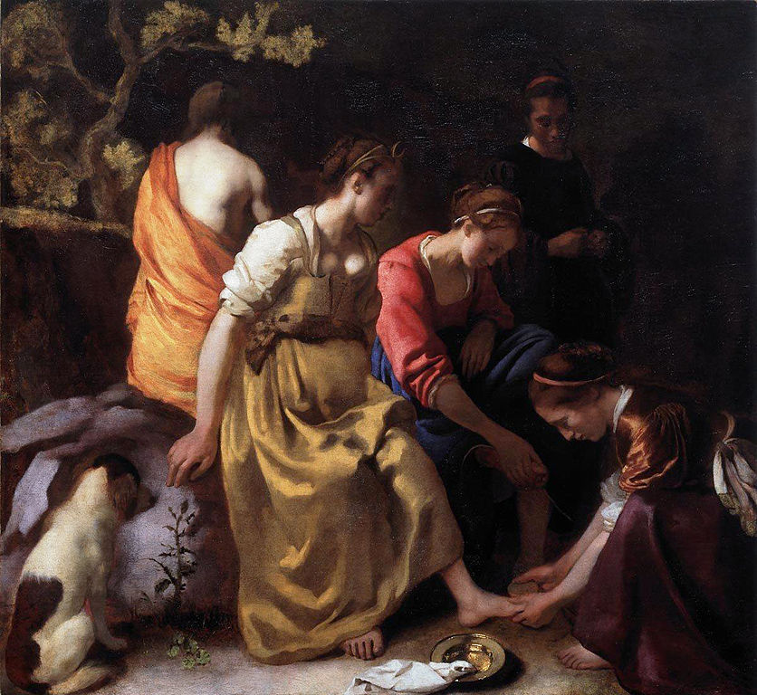 Diana and her nymphs (1653-1654)
