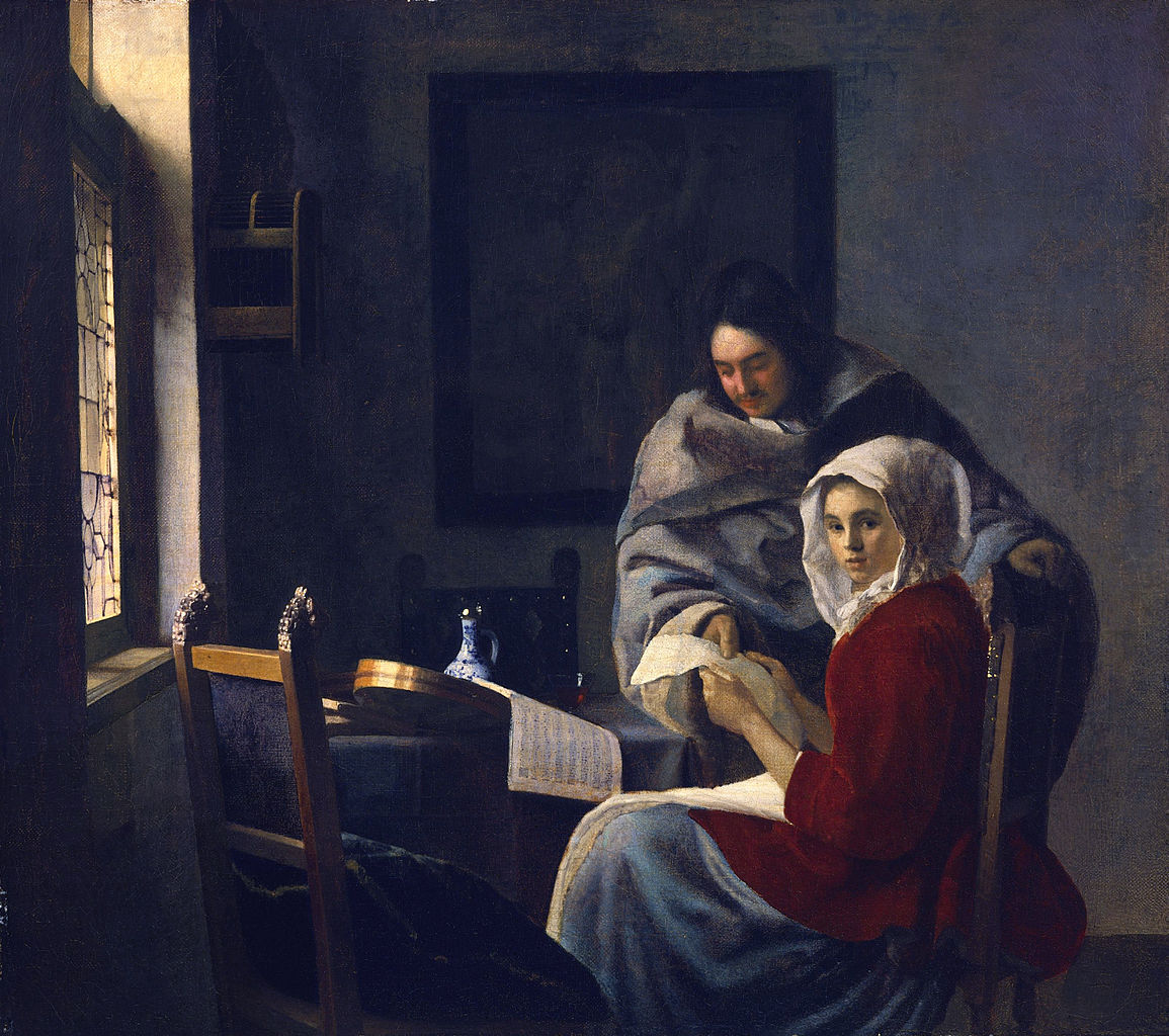Girl interrupted at Her Music (1658-1659)