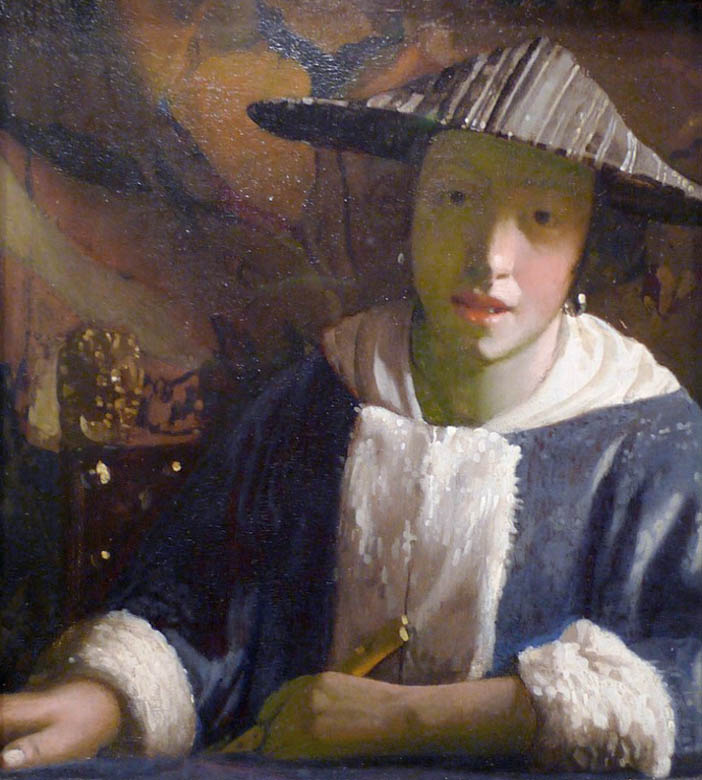 Girl with a Flute (1665-1670)