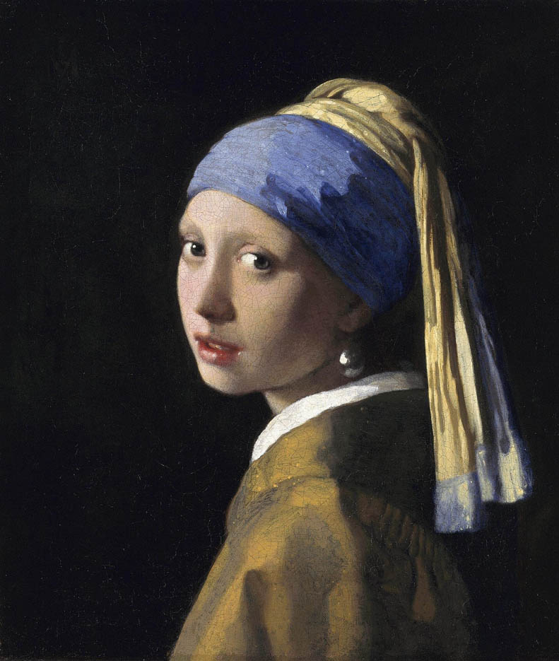 Girl with a Pearl Earring (c. 1665)
