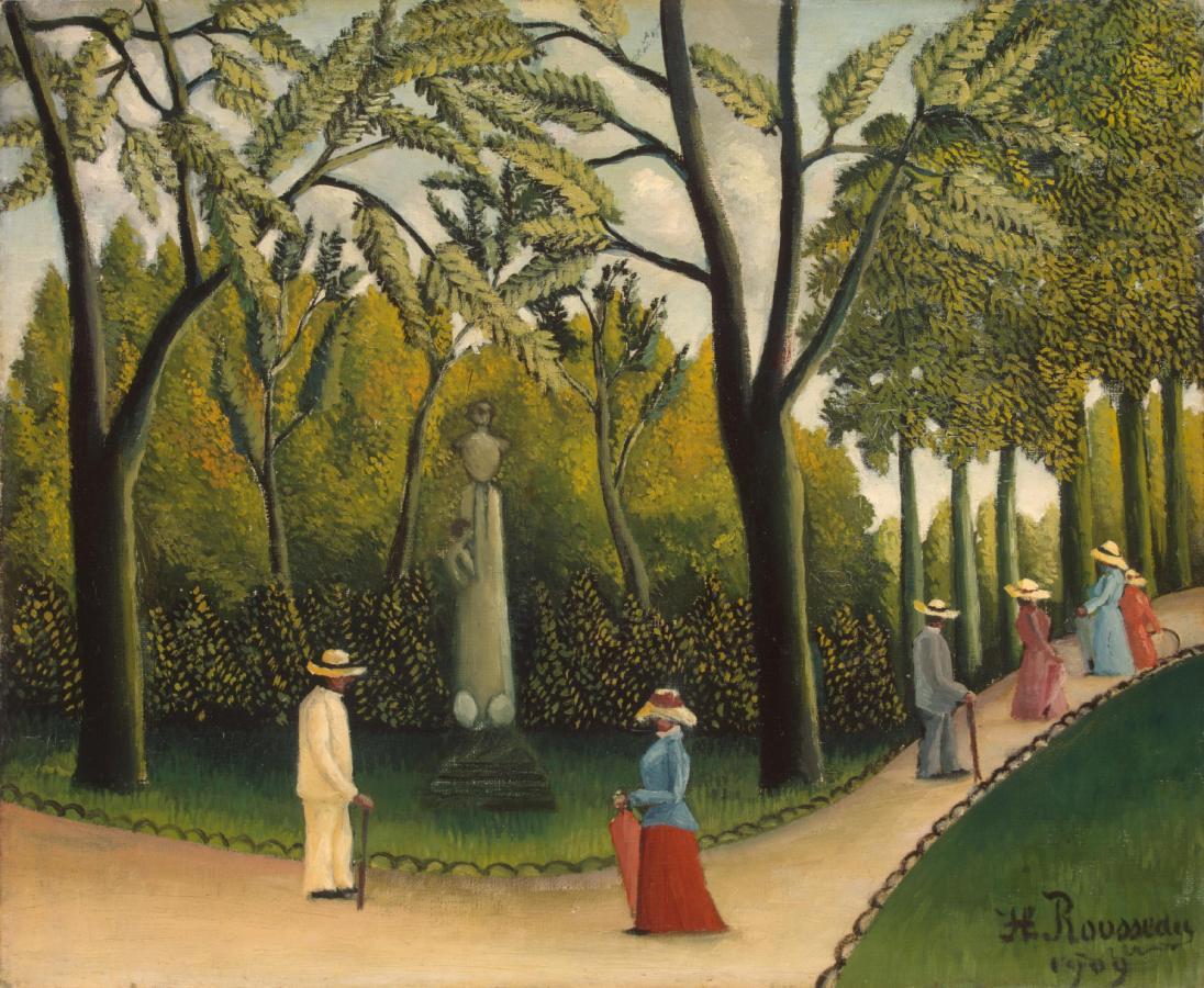 Jardin du Luxembourg, Monument de Chopin (1909)