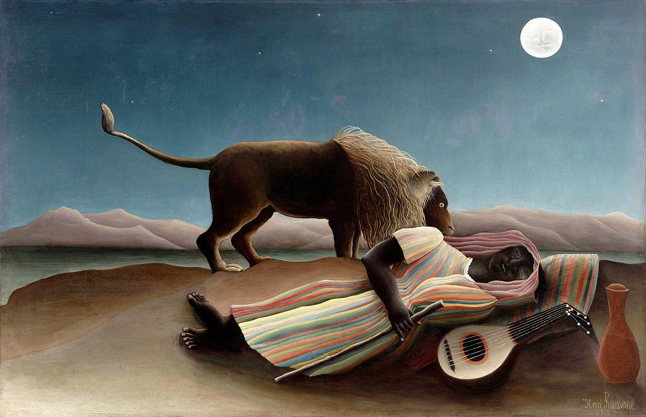 La Bohémienne endormie (1897)
