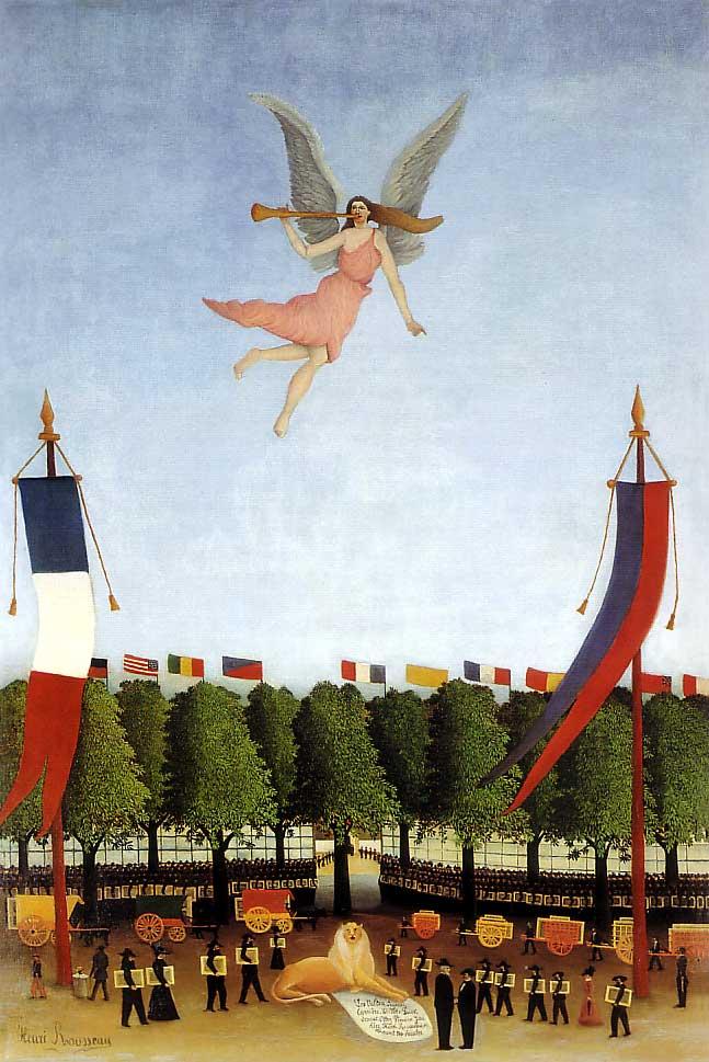 La Liberté invitant les artistes à participer à la 22e exposition des Indépendants (1905-1906)