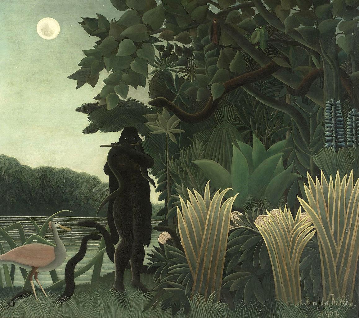La charmeuse de serpents (1907)