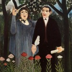 La muse inspirant le poète (1909)