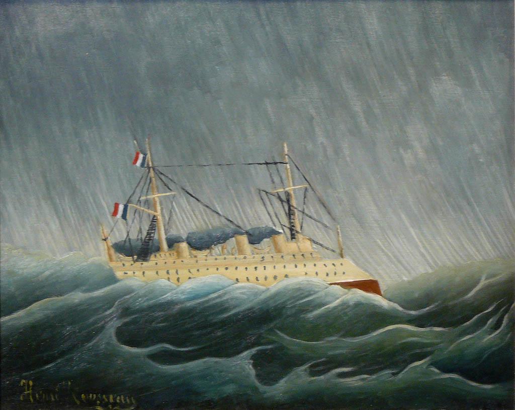 Le Navire dans la tempête (c. 1899)