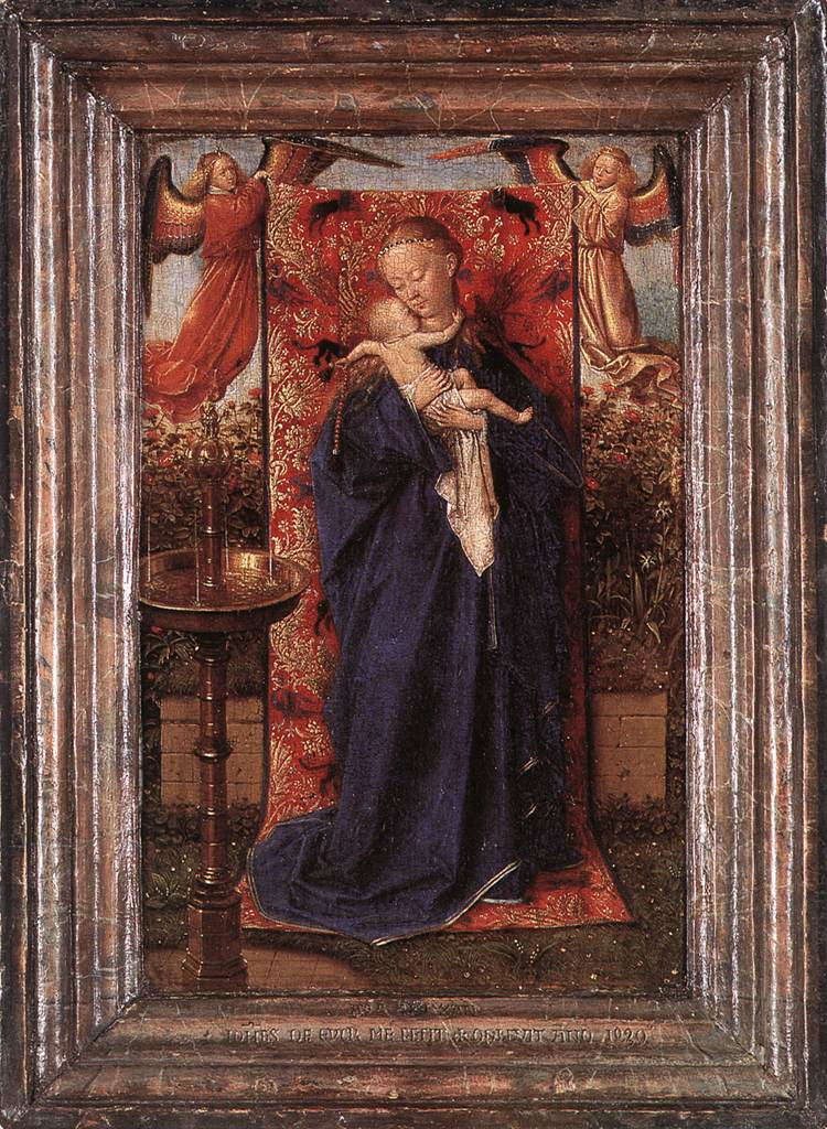 Madonna at the Fountain (framed)